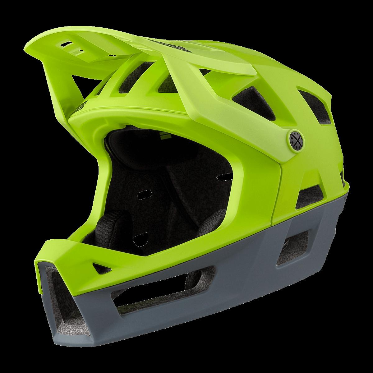 iXS integrální helma Trigger FF Lime vel. ML (58-62cm)