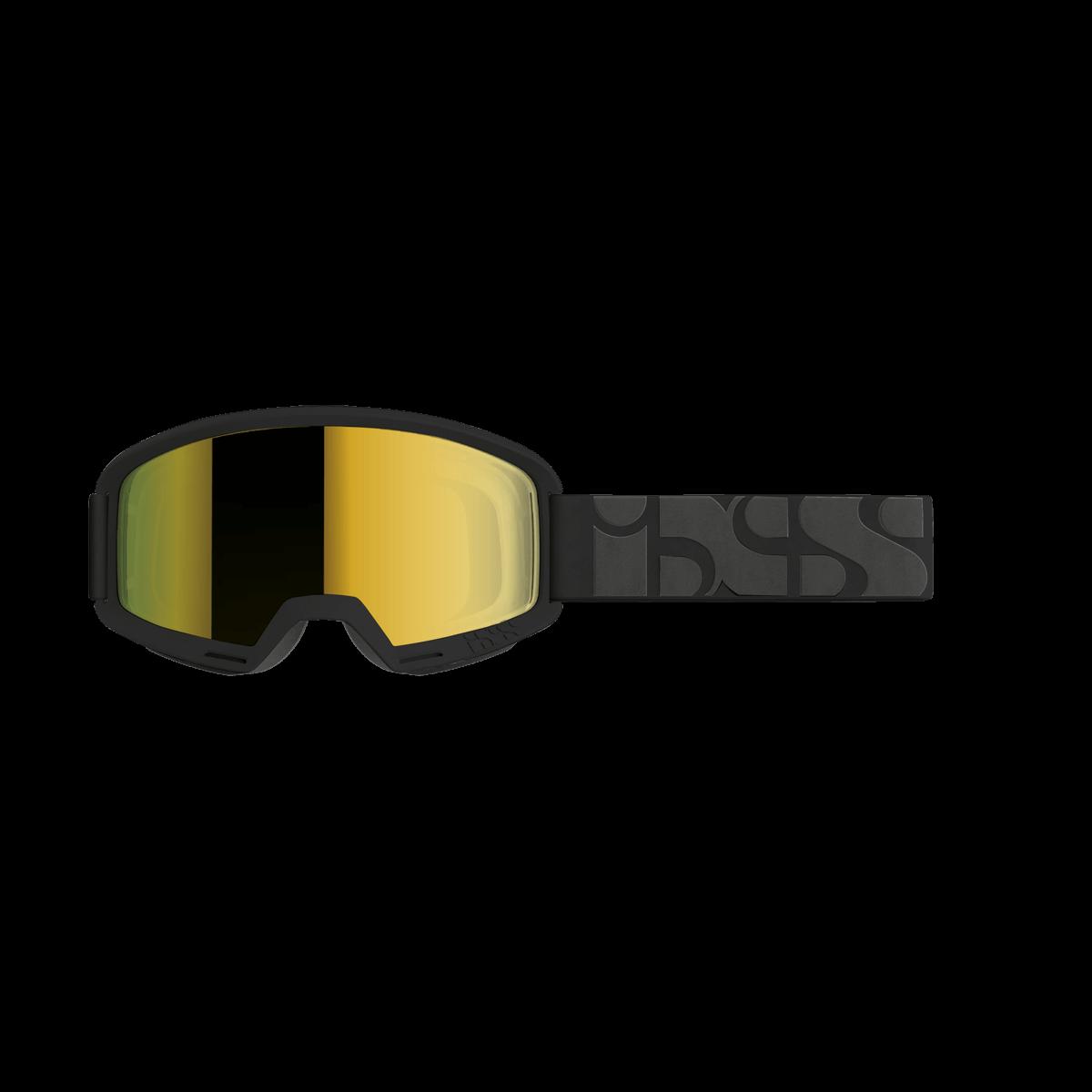 iXS brýle Hack black / mirror gold on