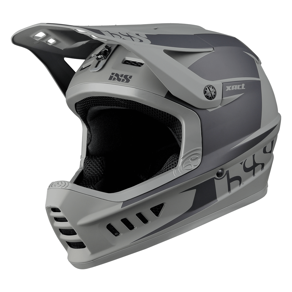 iXS helma integrální XACT EVO black-graphite ML (57-59cm)