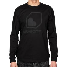Burgtec triko Black on Black Long Sleeve Tech